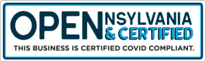 Opennsylvania & certified Logo